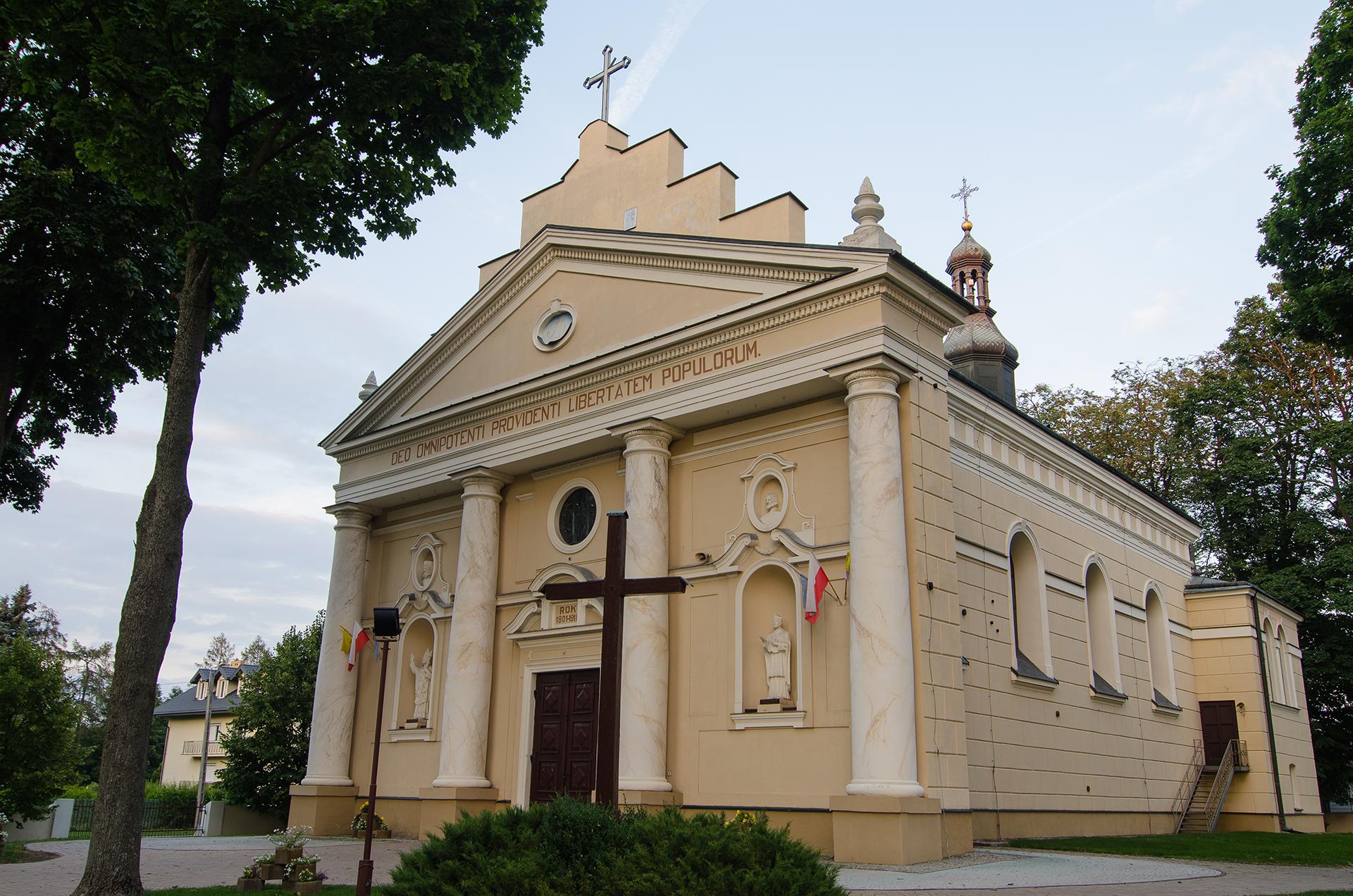 Parafia w Niedrzwicy Kościelnej - Kościół